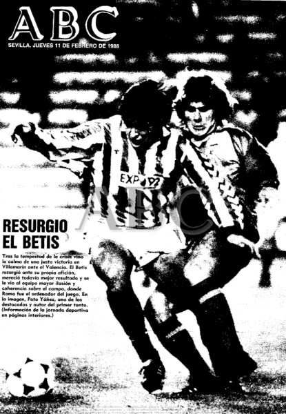 10.02.1988: Real Betis 2 - 0 Valencia CF