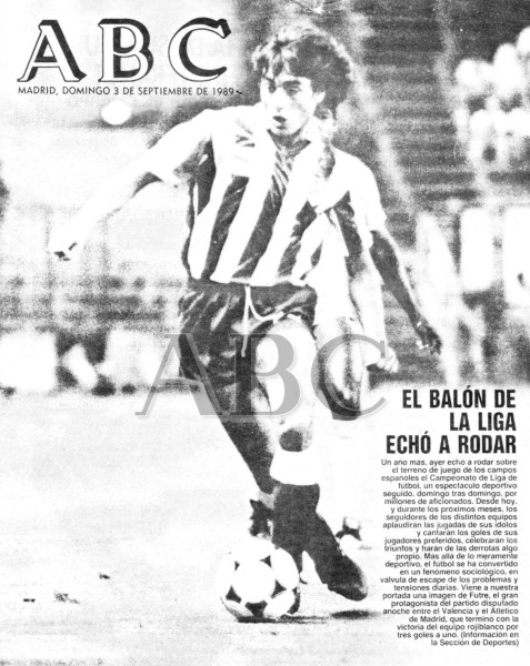 02.09.1989: Valencia CF 1 - 3 At. Madrid