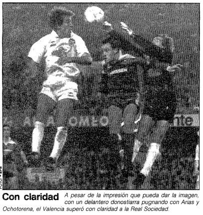 17.12.1989: Valencia CF 3 - 1 Real Sociedad