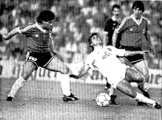 25.05.1990: Valencia CF 1 - 1 Argentina