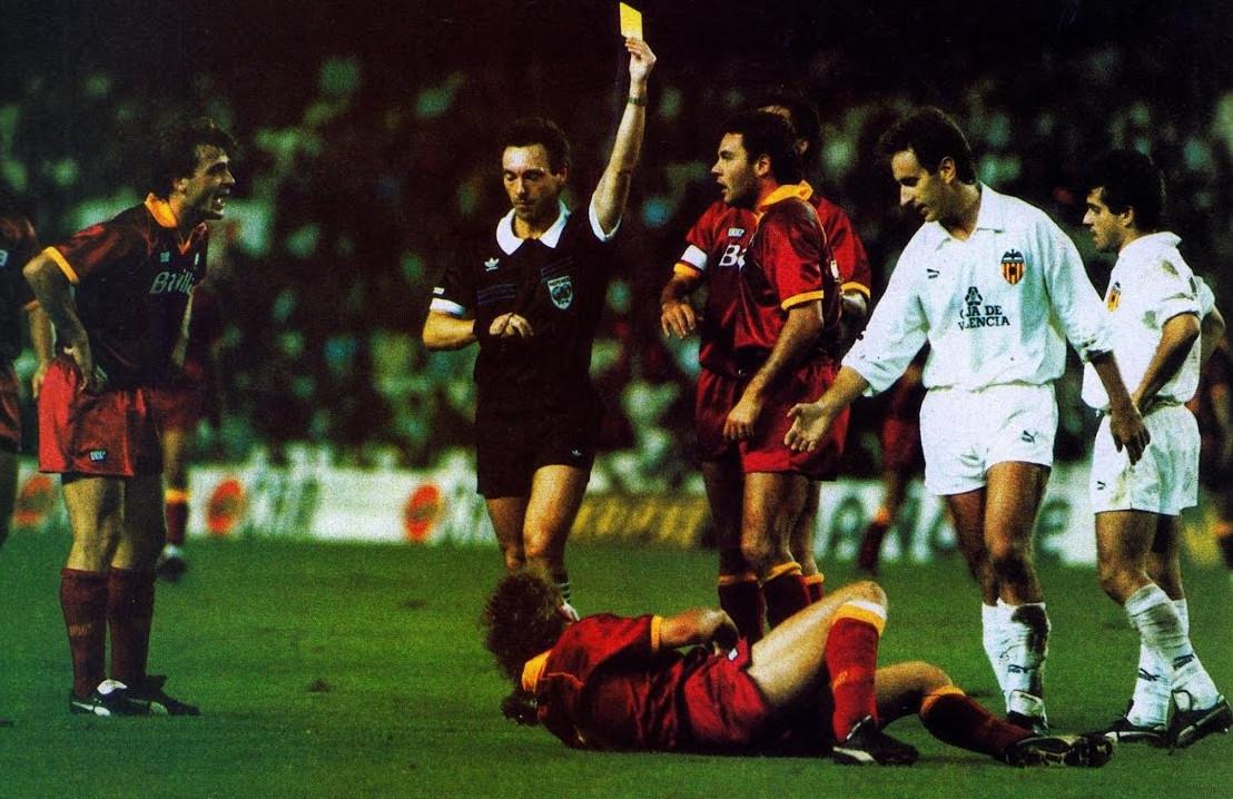24.10.1990: Valencia CF 1 - 1 AS Roma