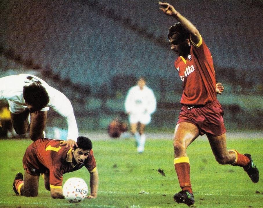 07.11.1990: AS Roma 2 - 1 Valencia CF