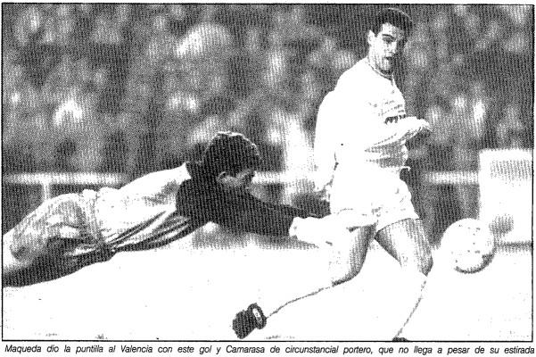 14.04.1991: Real Madrid 4 - 0 Valencia CF