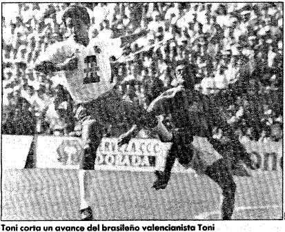 19.05.1991: CD Tenerife 1 - 1 Valencia CF