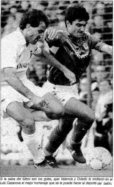 22.03.1992: Valencia CF 6 - 3 Real Oviedo