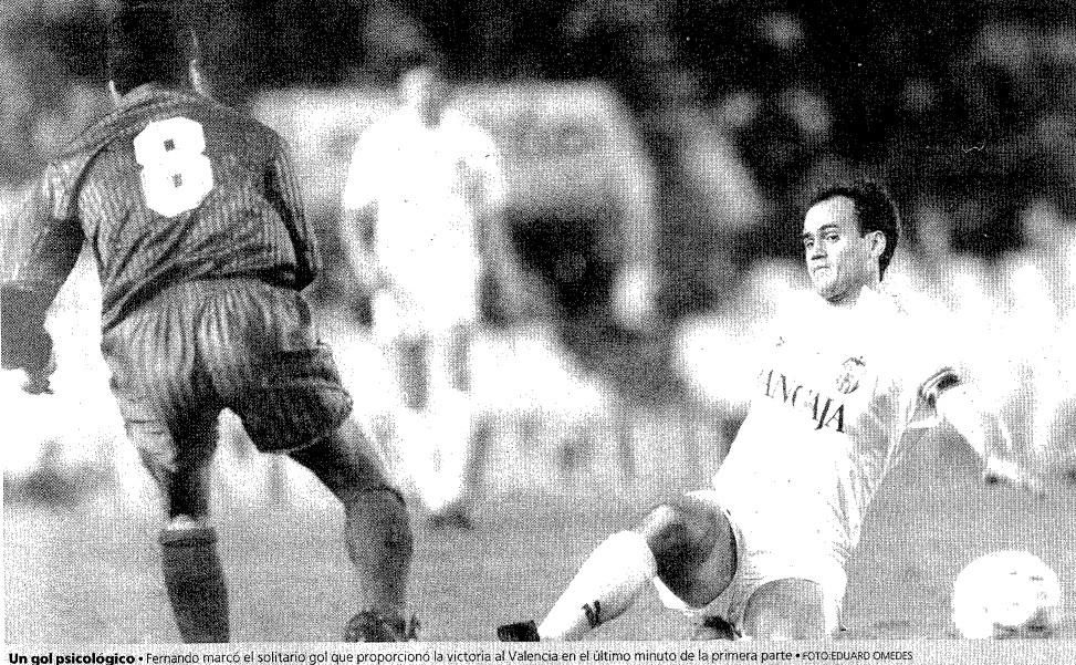 11.04.1992: Valencia CF 1 - 0 FC Barcelona