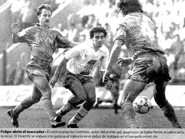 19.04.1992: CD Tenerife 2 - 1 Valencia CF