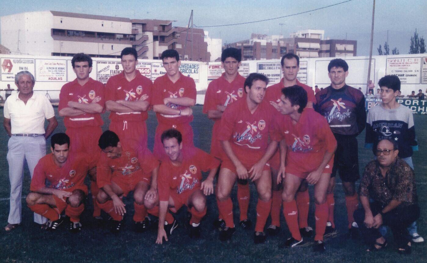 28.08.1992: Águilas CF 2 - 6 Valencia CF
