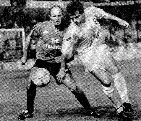 26.09.1992: CA Osasuna 2 - 2 Valencia CF