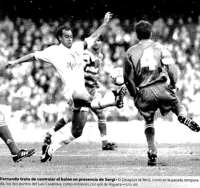 03.01.1993: Valencia CF 0 - 1 Real Zaragoza