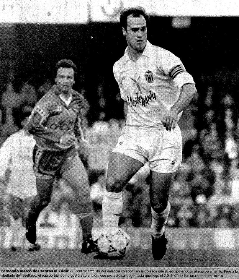 17.01.1993: Valencia CF 5 - 0 Cádiz CF