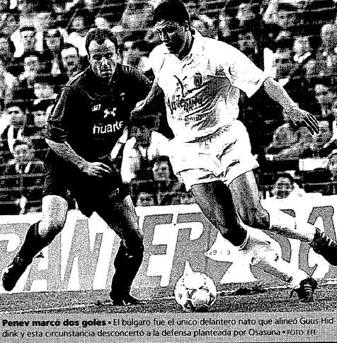 21.02.1993: Valencia CF 3 - 1 CA Osasuna