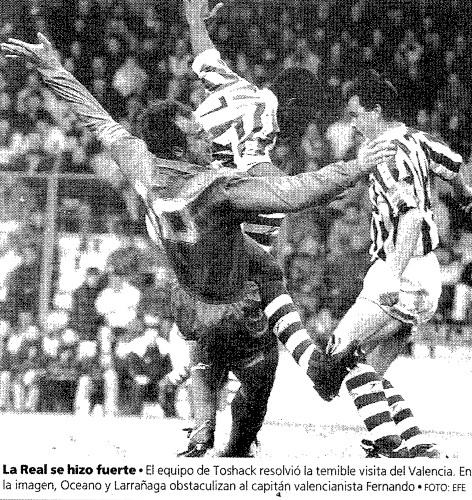 28.02.1993: Real Sociedad 1 - 0 Valencia CF