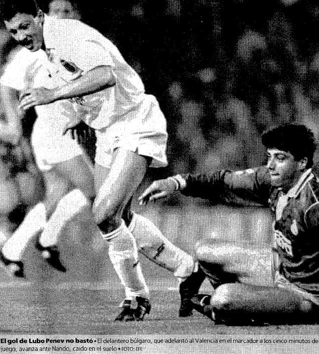 07.03.1993: Valencia CF 1 - 2 Real Madrid