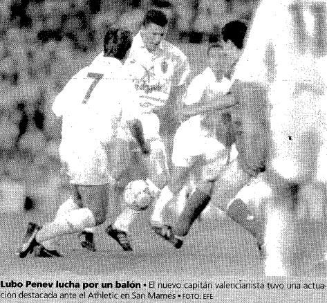 27.08.1993: Athletic Club 0 - 1 Valencia CF