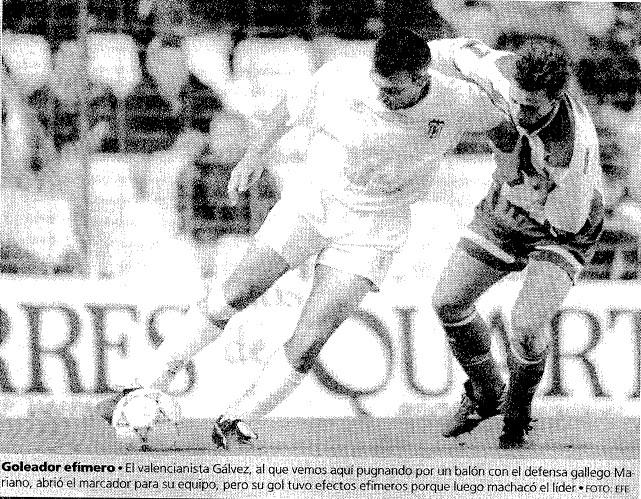15.01.1994: Valencia CF 1 - 3 Dep. Coruña