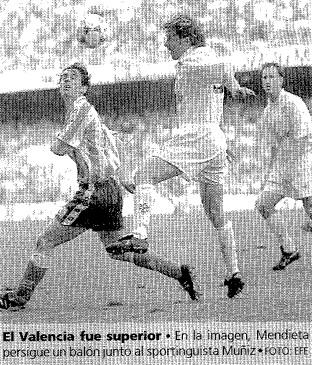 20.03.1994: Valencia CF 1 - 0 Sporting Gijón