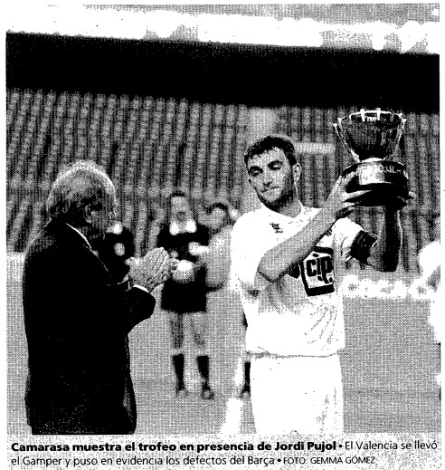 24.08.1994: FC Barcelona 1 - 4 Valencia CF
