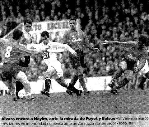 29.01.1995: Valencia CF 3 - 0 Real Zaragoza
