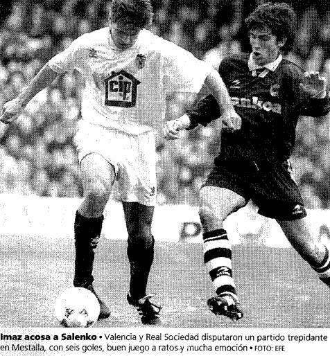 26.02.1995: Valencia CF 4 - 2 Real Sociedad