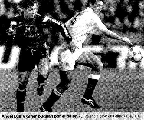 08.03.1995: RCD Mallorca 1 - 0 Valencia CF