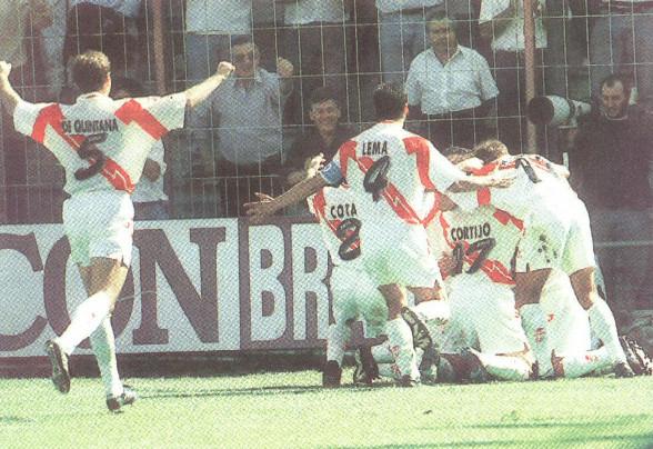 01.10.1995: Rayo Vallecano 3 - 2 Valencia CF