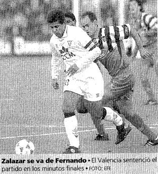26.11.1995: Albacete B. 1 - 3 Valencia CF