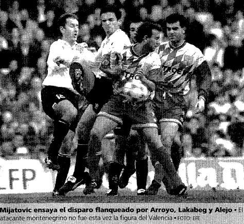 14.01.1996: Valencia CF 3 - 0 Celta de Vigo