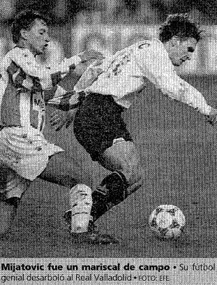 24.01.1996: Real Valladolid 2 - 5 Valencia CF