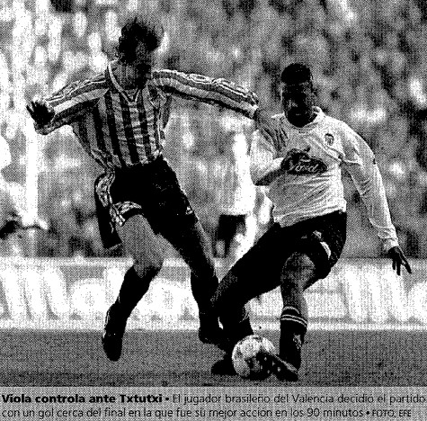 17.03.1996: Athletic Club 0 - 1 Valencia CF