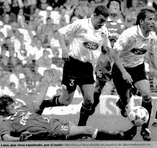 07.04.1996: Valencia CF 1 - 0 Albacete B.