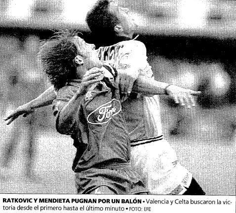 25.05.1996: Celta de Vigo 1 - 1 Valencia CF