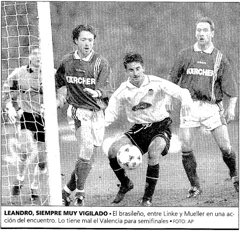 04.03.1997: Schalke 04 2 - 0 Valencia CF