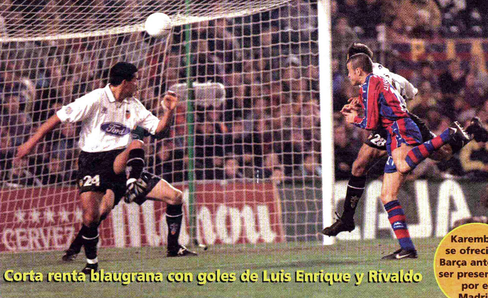 15.01.1998: FC Barcelona 2 - 1 Valencia CF