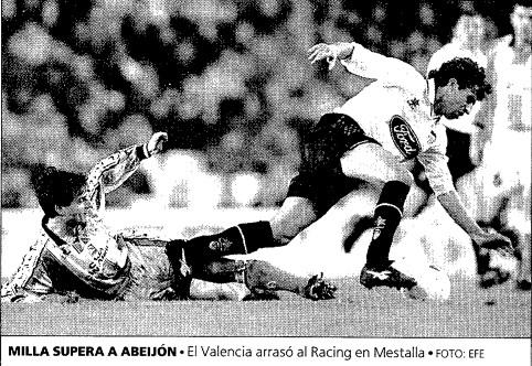 25.01.1998: Valencia CF 6 - 1 Rac. Santander