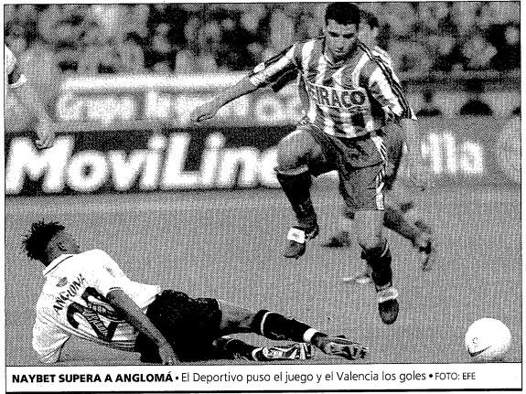 02.05.1998: Dep. Coruña 1 - 2 Valencia CF