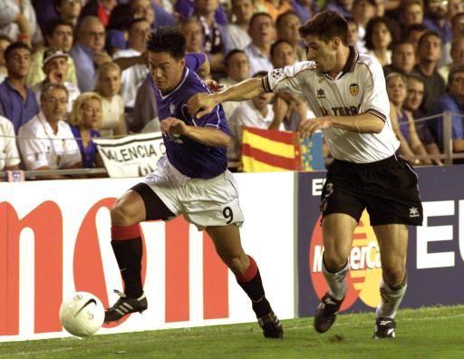 15.09.1999: Valencia CF 2 - 0 Glasgow Rang.