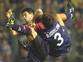 29.10.2000: CA Osasuna 1 - 2 Valencia CF