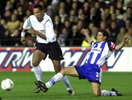 17.12.2000: Valencia CF 2 - 0 Málaga CF