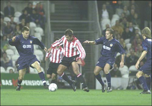 20.12.2000: Athletic Club 1 - 1 Valencia CF