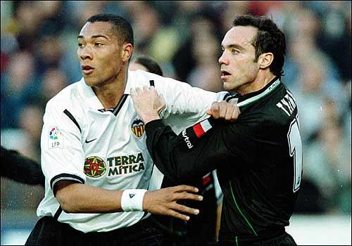 07.01.2001: Valencia CF 1 - 0 Rac. Santander