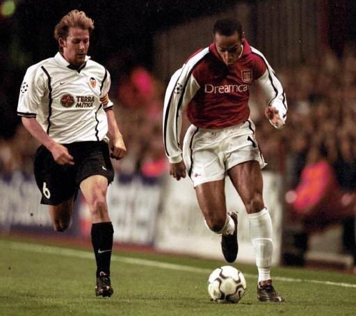 04.04.2001: Arsenal FC 2 - 1 Valencia CF