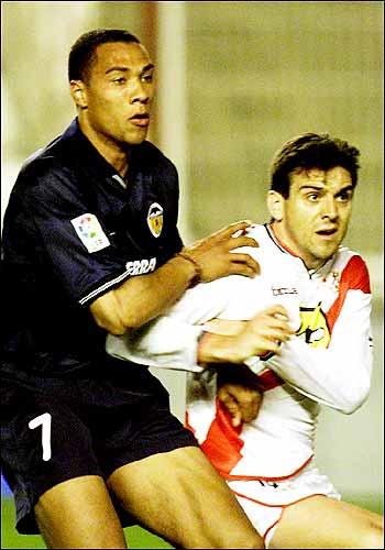 07.04.2001: Rayo Vallecano 1 - 4 Valencia CF