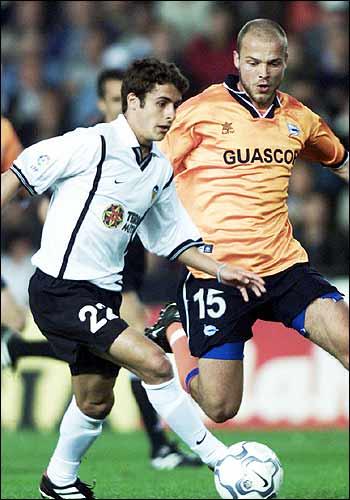 14.04.2001: Valencia CF 1 - 2 Dep. Alavés