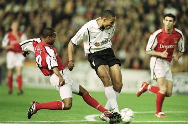 17.04.2001: Valencia CF 1 - 0 Arsenal FC