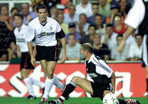 25.08.2001: Valencia CF 1 - 0 Real Madrid