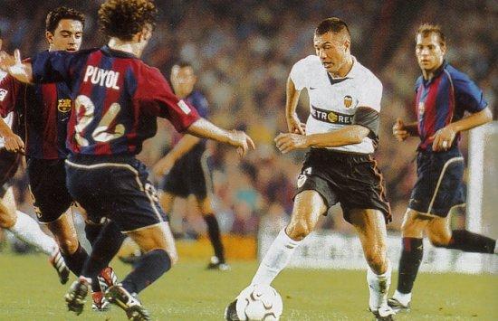 14.10.2001: FC Barcelona 2 - 2 Valencia CF