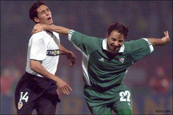 18.10.2001: Legia Varsovia 1 - 1 Valencia CF