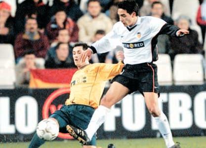 22.11.2001: Valencia CF 1 - 0 Celtic Glasgow