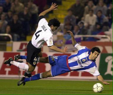 09.12.2001: Dep. Coruña 1 - 0 Valencia CF